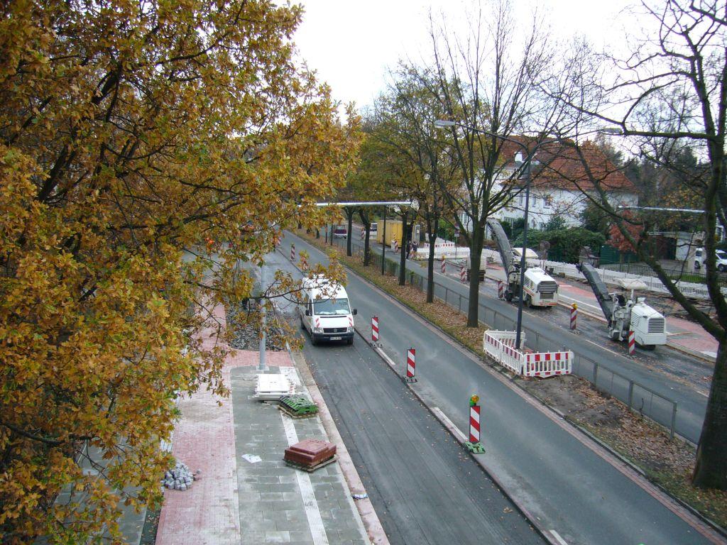 Kurfürstenallee - Querung Metzer Straße/Verdunstraße