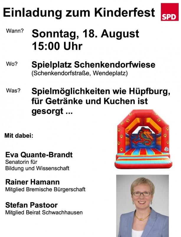 SPD Kinderfest Schwachhausen