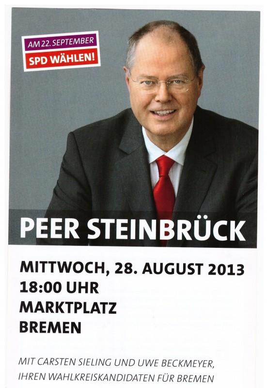 Klartext mit Peer Steinbrück