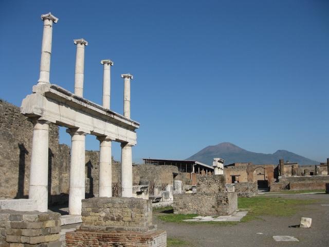 Pompeji und der Vesuv