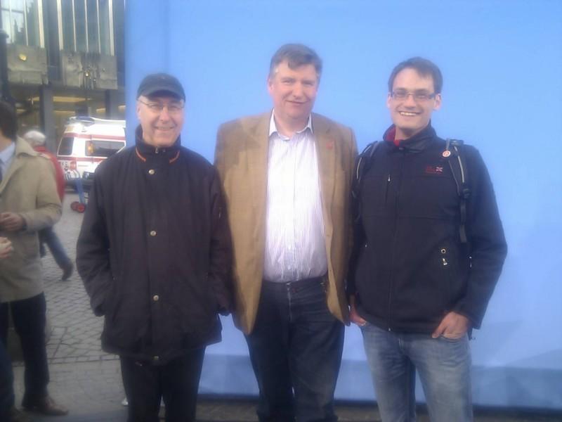 Gerd Rohde, Rainer Hamann, Dominic Spinnreker
