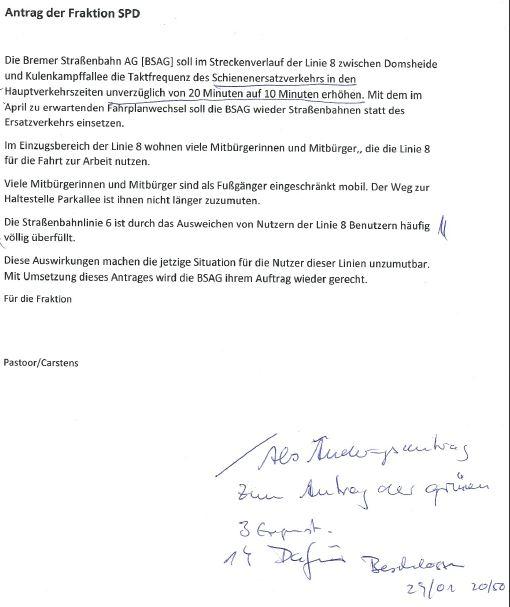 Beiratssitzung 28_01_2016_Ergaenzungsbeschluss_SPD_Fraktion